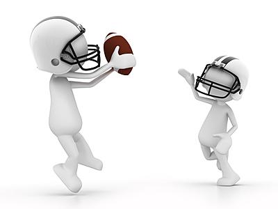 パスはアメフトの醍醐味!2パターンのパスを...|アメリカンフットボール