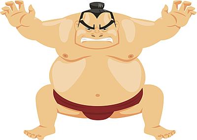 相撲では体重が重い方が有利なのか?巨漢力士... 相撲