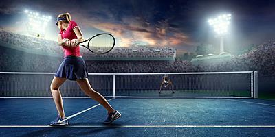 硬式テニスの打ち方!基本の7種から応用1種! テニス