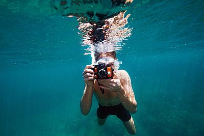防水カメラがあればシュノーケリングの楽しさ...|シュノーケリング