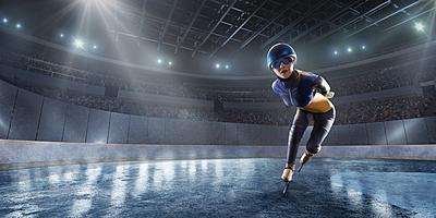 【スピードスケート】ショートトラックとは?...|スピードスケート