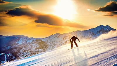 爽快!スノーボードのカービングターンのコツ...|スノーボード