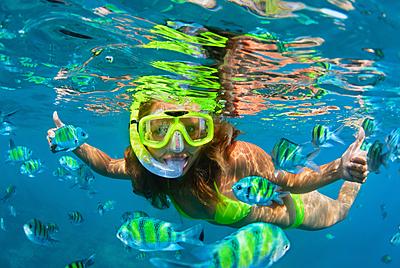 シュノーケリングの女性用水着の選び方と人気...|シュノーケリング